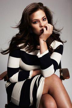 heartsoulandcurves:    Curvy women in stripes…. plus size fashion