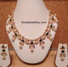 CZ South sea Pearls Necklace