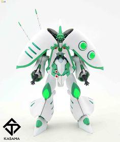 GUNDAM GUY: HGBF 1/144 Emerald Witch - Custom Build