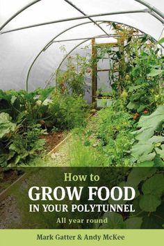 How to Grow Food in Your Polytunnel by Mark Gatter, Andy McKee