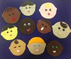 Madigan Reads: Baby Faces Feltboard