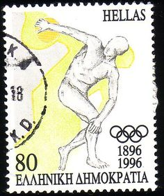 Stamp from Greece Ex Yougoslavie, Stamp Collecting, Olympic Games, Athletics, Postage Stamps, Olympics, Retro, Sports, Poster