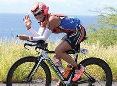 While completing her first full-distance Ironman race, actress Katherine Kelly Lang wears sunglass style Rydon from @rudyproject