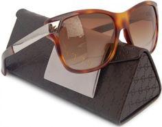 Óculos GUCCI GG3611/S Sunglasses Havana/Brown Gradient (09G0) 3611/S 9G0 6Y 57mm Authentic #Óculos #GUCCI