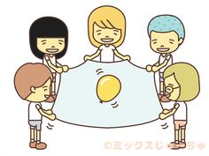 This is a game that you cooperate with your friends not to drop the balloon.Japanese page : Para-balloon with a SheetHow Fun Games For Kids, Sports Day, Charlie Brown, Activities For Kids, Balloons, Family Guy, Japanese, Play, Comics