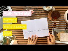 May Plan With Me 2018 | Minimal and Beginner Friendly Bullet Journal TN Setup | Edie's Big Plans