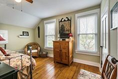 DESIGNER MAGAZINE-QUALITY, VINTAGE HOME MEETS CRYSTAL LAKE! THIS GORGEOUS 1920S GEORGIAN-INSPIRED FARMHOUSE HAS ALL THE DETAILS; HARDWOOD FLOORS THROUGHOUT, CROWN MOLDING, WOOD BURNING FIREPLACE IN LIVING ROOM, BAY WINDOW AND CRAFTSMAN STYLE TRIM. COMPLETELY RENOVATED HOME WITH QUALITY AND ENERGY...