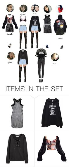 """[ SUPERBAD : DEBUT SHOWCASE ]"" by joohoney ❤ liked on Polyvore featuring art"