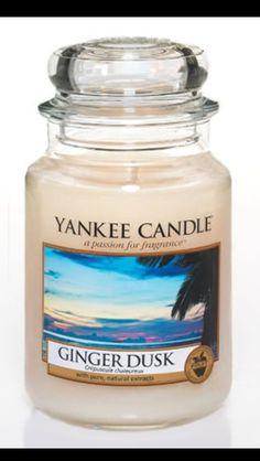 Ginger dusk Yankee candle!