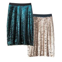 mark. by Avon Any Which Way Skirt | Swipe up for teal sequins, swipe down for gold. Wear it solid or create a pattern. FEATURES • Zipper closure • Color changing MATERIALS • Shell: Nylon • Lining: Polyester CARE • Hand wash cold. • Do not use chlorine bleach, do not use non-chlorine bleach. • Dry flat. • Iron on lowest setting if needed. This item is part of our new sizing guide. Please refer to the updated... ~ Avon Rep Beth Bailey ~ Avon eStore LipstickShoesAndMore.com