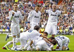 Otra vez el Real Madrid...Halá Madrid!! Ganó nuevamente al Barca... 03.03.2013