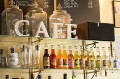 Bottles, Cafe Lauri | by visitsouthcoastfinland #visitsouthcoastfinland #kahvila #cafe #Finland #Lohja