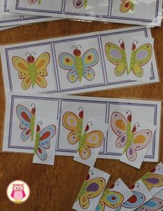 Butterfly Matching Boards:  Preschool Butterfly Activity Cute Butterfly, Matching Games, Lesson Plans, Puzzles, Bugs, Butterflies, Preschool, Boards, Activities