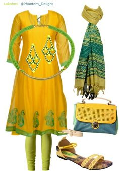My @LIMEROAD COM Scrapbook Look of the Day 'Lime N Mango'.  Relish this look here: http://phantomdelight.blogspot.com/2013/11/lime-n-mango.html