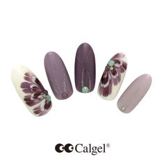 #Calgel #Nail New Color CGPU04S Lush luxurious color.