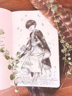 Anime Kunst, Anime Art, Art Sketches, Art Drawings, Manga, Children Sketch, Sad Art, Character Design Inspiration, Comic Artist