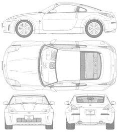 nissan 350z   SMCars.Net - Car Blueprints Forum