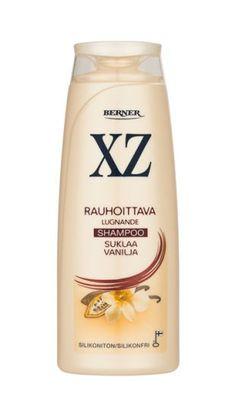Kutiavalle ja herkälle hiuspohjalle: Aitoa kaakaota sisältävä XZ Suklaa Vanilja shampoo. http://www.xz.fi/tuotteet/xz-suklaa-vanilja-shampoo