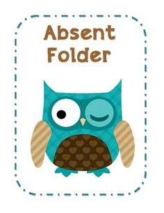 I just LOVE the Owl Graphics I have so I decided to make some Covers/Lists for my classroom.Take a peek if you'd like :-)Absent FolderWhile you were outMissed WorkDon't Forget....To DoTo LaminateTo CopyTo GradeNeed SignatureBring HomeThings to do for next week