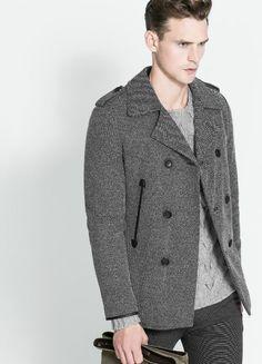 10 abrigos imprescindibles para hombre en las rebajas de Mango d0e4fed06957