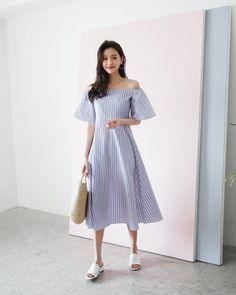 Ideas Womens Fashion Plus Size Dresses Blouses Ulzzang Fashion, Asian Fashion, Trendy Fashion, Plus Size Fashion, Girl Fashion, Womens Fashion, Fashion Design, Trendy Style, Simple Dresses