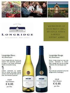 Natuurlijk uit Zuid-Afrika van Longridge! http://www.flesjewijn.com/longridge