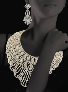 Christie's Dubai announce the sale of the largest private collection of jewellery ~ 6460 carats of diamonds in this set!!!