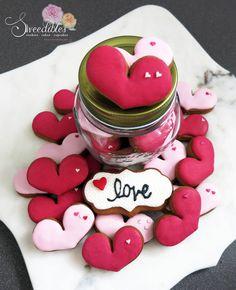 Valentine Jar Cookies