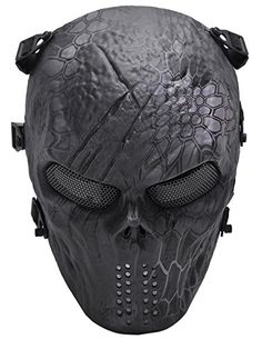 Outgeek Tactical Gear Airsoft Mask Typhon Camouflage Full...
