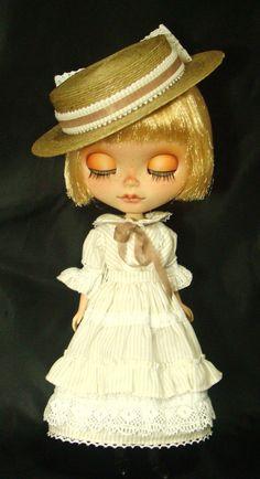 Natural Kei - OOAK Custom Doll Blythe Custom By R. Szani Outfit by Wivi Szani ( Wilma Garcia Szaniecki) SOLD Owner:@olinthom