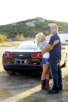 Couples shoot with their car/cars. Couple Pictures, Wedding Pictures, Wedding Ideas, Car Engagement Photos, Couple Moments, Cool Poses, People Fall In Love, Couple Shoot, Photo Look