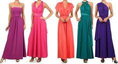 MISS BUTTERFLY MAXI CONVERTIBLE DRESS / INFINITY WRAP Multi Way Long Wedding Bridesmaid