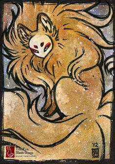 Fluffy Gold [ACEO] by sarah-grey.deviantart.com on @deviantART