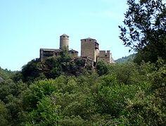 Château de Calberte --  Région Languedoc-Roussillon   Département Lozère   Commune Saint-Germain-de-Calberte