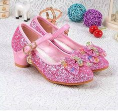 Cheap kid jelly shoes, Buy Quality kids black dress shoes directly from China shoes canada Suppliers: Girls Wedding Shoes Enfants 2016 Baby Children's Sequins Princess Kids High Heels Dress Party Shoes For Girls Pink Blue Gold 540 Princess Elsa Dress, Princess Shoes, Frozen Princess, Princess Flower, Girls Wedding Shoes, High Heels For Kids, Flower Girl Shoes, Flower Girls, Lunette Style