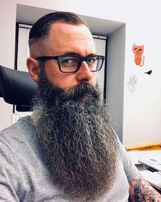 Grey Beards, Long Beards, Hipster Beards, Walrus Mustache, Beard No Mustache, Beard Art, Awesome Beards, Epic Beard, Beard Tattoo