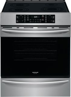 This 30 induction range from the Gallery Series by Frigidaire comes with 4 elements and a cu. It also features self clean with fast steam cleaning option. even bake technology and is both. Oven Cleaning, Steam Cleaning, Pick Up, Convection Cooking, Frigidaire, Single Oven, Electric Cooktop, Glass Cooktop, Oven Racks