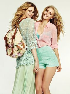 See here more cute outfits Cute Summer Outfits Tumblr, Casual Summer Outfits, Cute Outfits, More Cute, Cover Up, Bell Sleeve Top, Spring Summer, Magazine, Tops