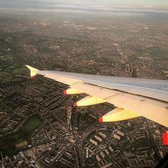 #goodmorning #london #sunrise #a380 #wing #dowellafrica