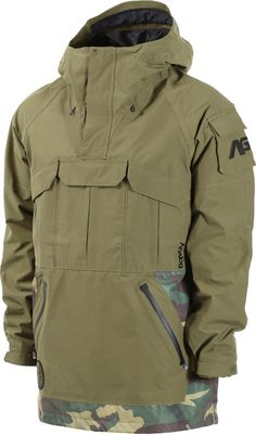 Analog Highmark Gore-Tex Anorak Jacket 2017 - keef/surplus camo - Free Shipping Mens Tactical Pants, Tactical Wear, Tactical Clothing, Military Gear, Military Jacket, Clothes For Pregnant Women, Jacket 2017, Anorak Jacket, Men's Jacket