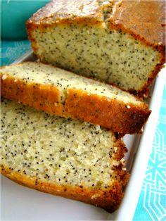 Pão de Limão com Sementes de Papoila