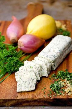 Make your own flavor-packed compound butter with fresh herbs, shallots, and lemon zest. Parsley grown in the herb garden makes a tasty addition: https://gardenerspath.com/plants/herbs/grow-parsley/