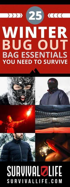 25 Winter Bug Out Bag Essentials You Need To Survive