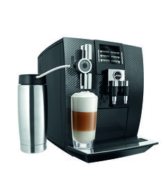 The New Swiss Made Jura Automatic Coffee Center Offers Ultimate In High Tech Modern Design For Those Who Reciate A True Bean To Cup Experience