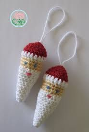 Image result for free crochet pattern Christmas gnome