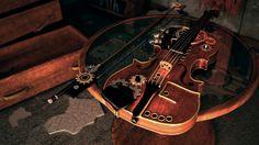 Steampunk Violin Color by EthanLitton
