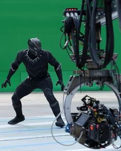 Behind the scenes, Captain America Civil War.