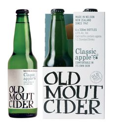 Old Mout Classic Apple Cider