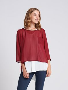 AW17TP924 - Shelly Top