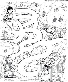 Little red riding hood story and activity page Fairy Tale Activities, Motor Activities, Preschool Activities, Fairy Tale Theme, Fairy Tales, Maze Worksheet, Mazes For Kids, Traditional Tales, Summer Reading Program